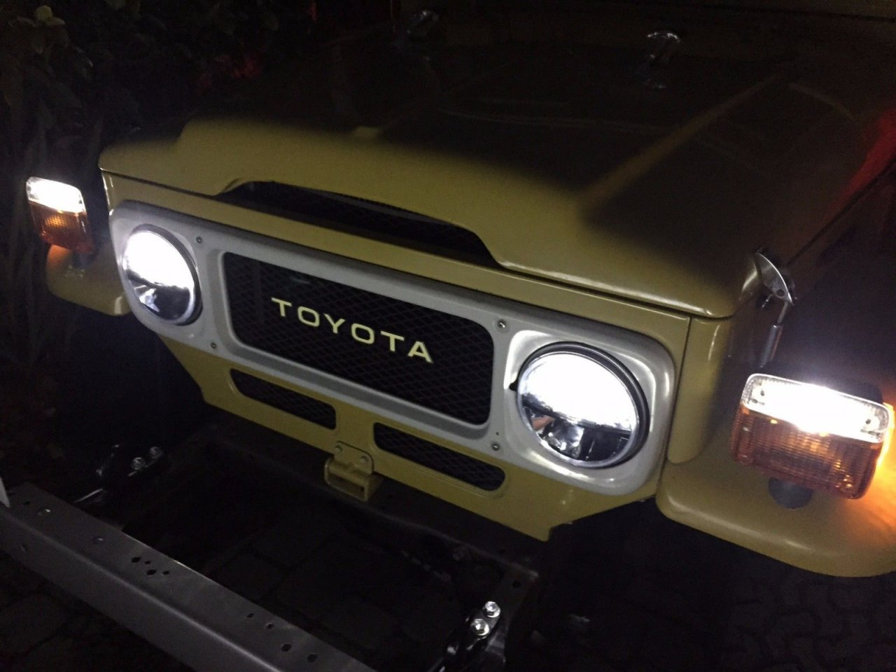 Led Headlights For Fj40 And Early Mini Truck Ih8mud Forum