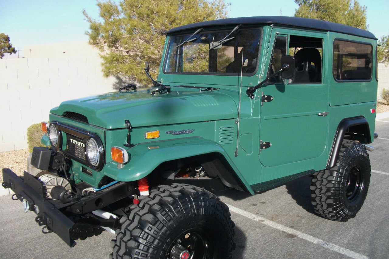 for sale rare unique 1974 toyota fj40 land cruiser one of a kind extremely clean tampa. Black Bedroom Furniture Sets. Home Design Ideas