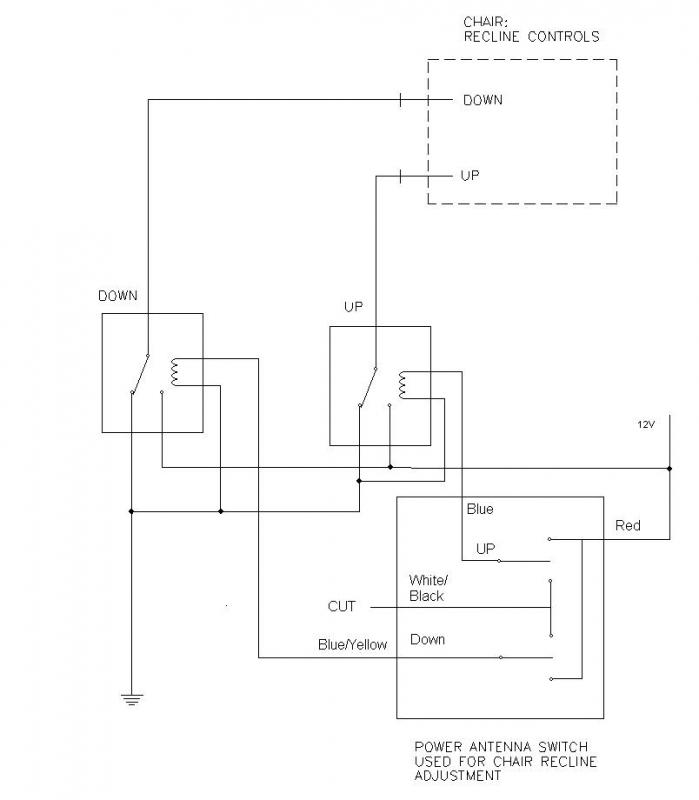 Power Antenna Relay Wiring - DIY Enthusiasts Wiring Diagrams • on antenna relay wiring up and down, toyota antenna relay diagram, antenna wiring diagram for electric,