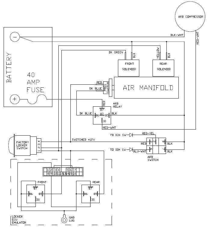 arb air locker factory switch integration ih8mud forum schematic jpg