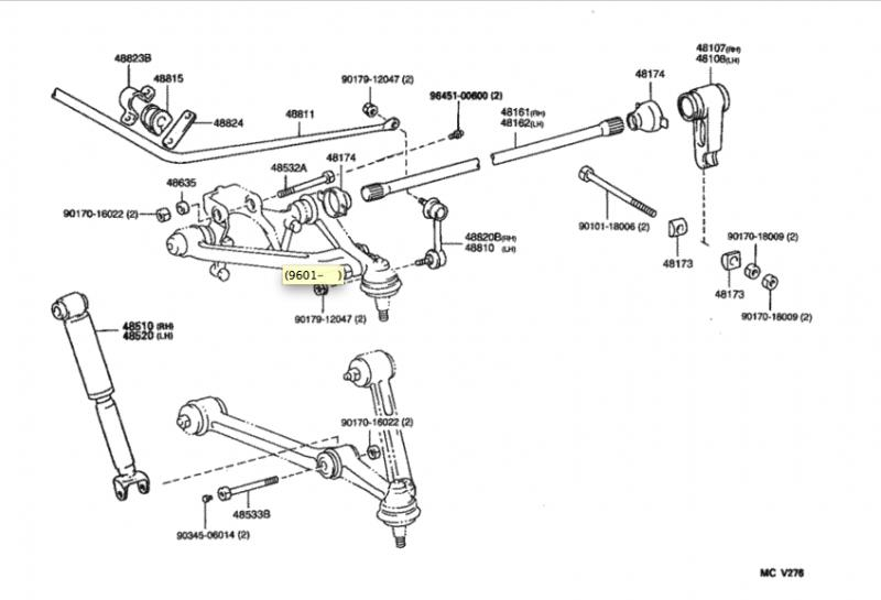 2004 mazda 3 suspension diagram