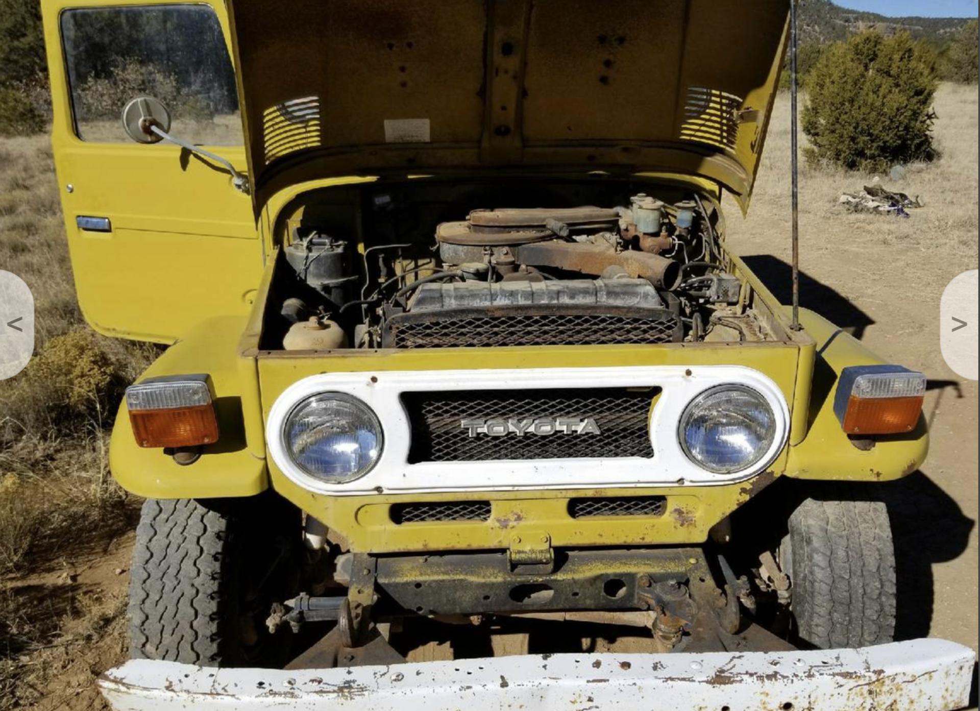 craigslist - Not mine 75 yellow fj40 | IH8MUD Forum