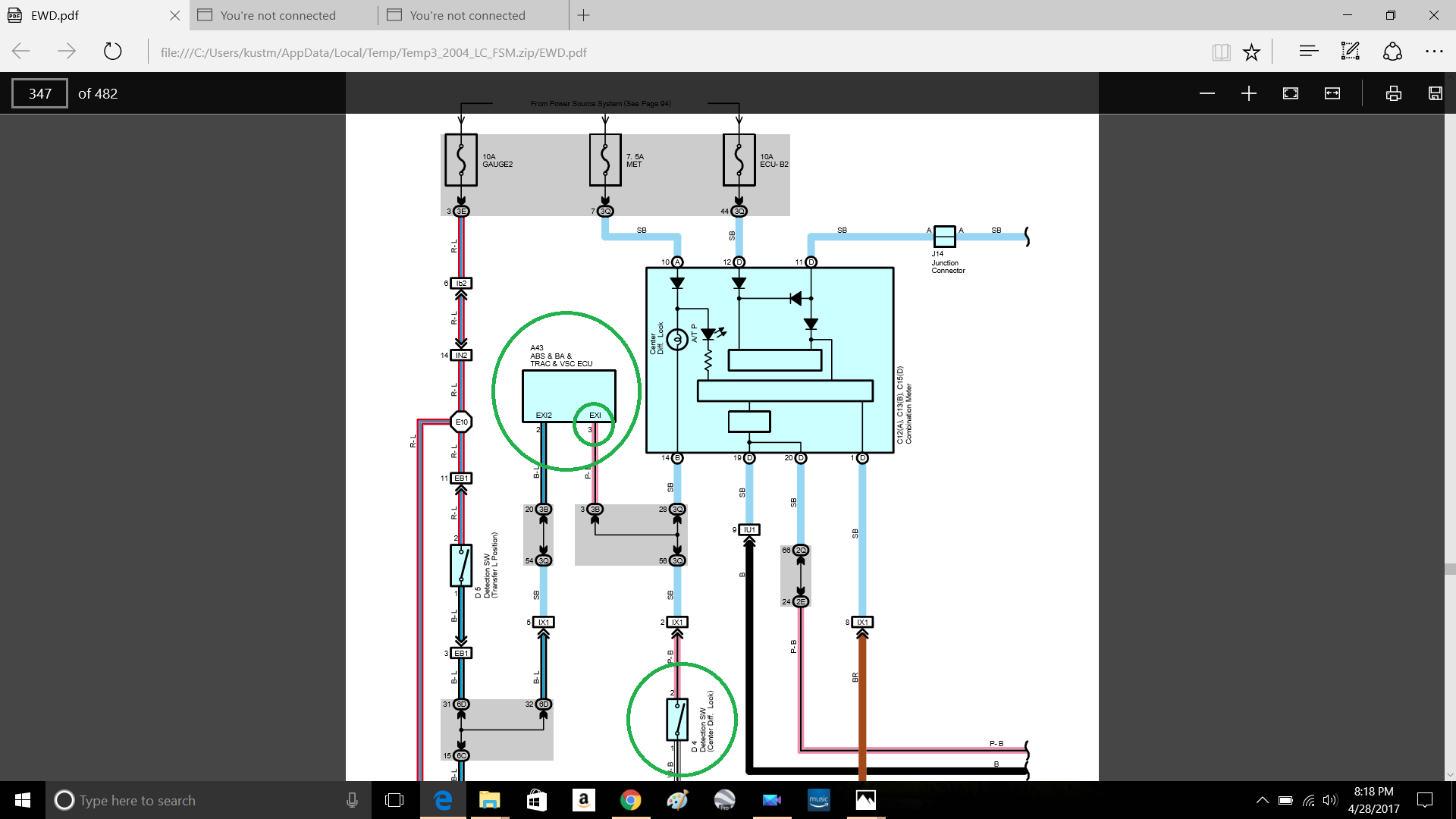 VSC OFF switch install. | IH8MUD Forum