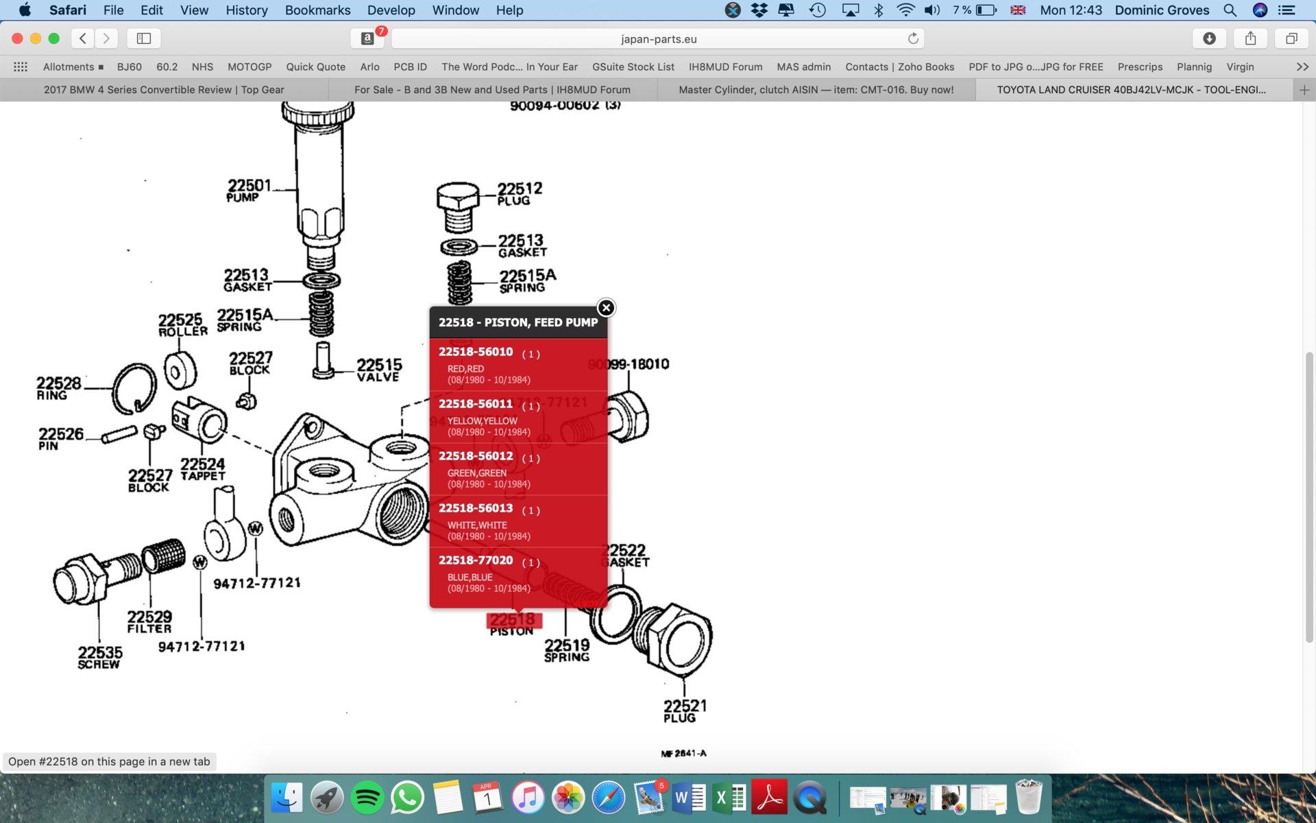 2012-2017 Honda TRX500 Rubicon ATV New K/&N High-Flow Air Filter