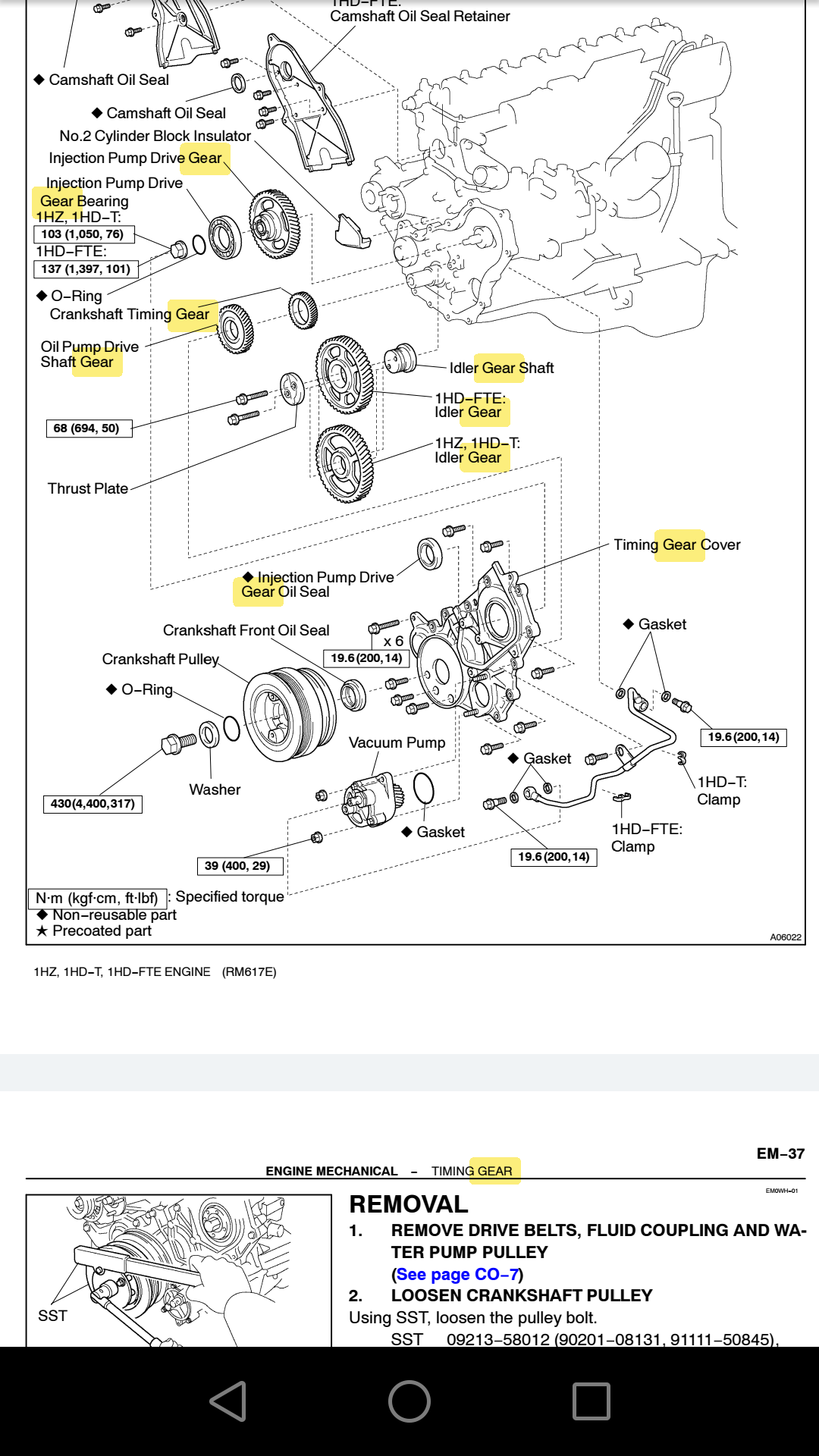 Anyone done a mechanical injector pumped 1HD-FTE? | IH8MUD Forum