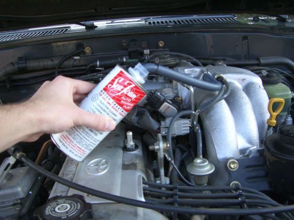 how to put seafoam in your engine