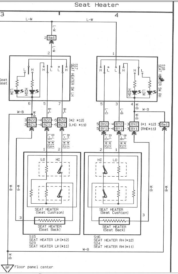 Heated Seat Wiring Hj61