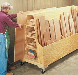 wood storage cart plans | IH8MUD Forum