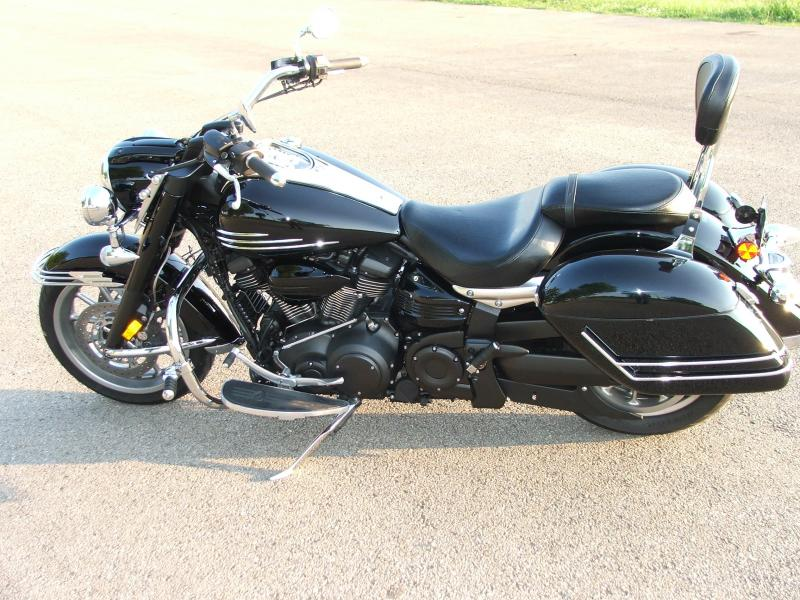 Guages Side View Wo Fairing With Sissy Bar