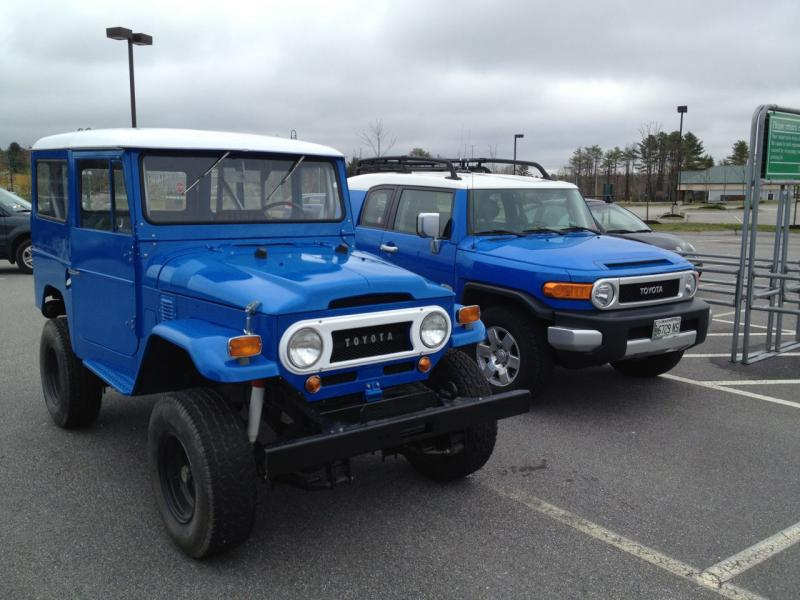 Show off your Blue FJ40  Page 10  IH8MUD Forum