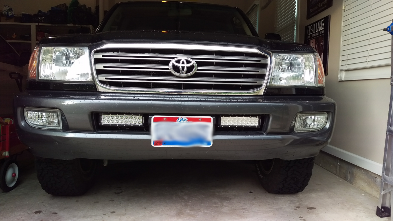 Lc Aux Led Fog Light Install Ih8mud Forum Bumper Clear Lights Lamps With Switch Wiring Replacement Ebay Sketch 1474247278905