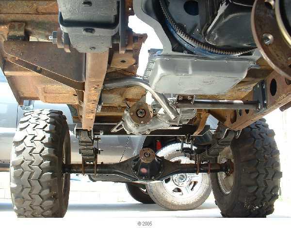 Mini Truck Axles : Mini truck rear axle in fj ih mud forum