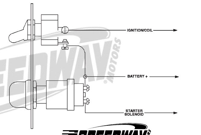 toggle and push on starter switch wiring diagram