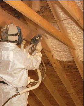 Is It Okay To Insulate Against The Underside Of Roof