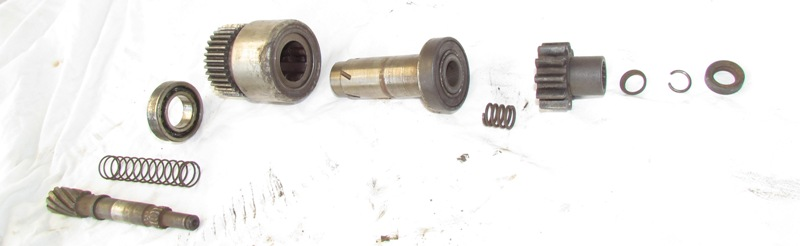 Photo from exploded view starter motor clutch ih8mud forum for Mud motor electric clutch