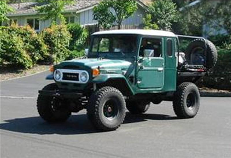 stretched FJ45 cab ,or modded 40 ,any info about this rig or