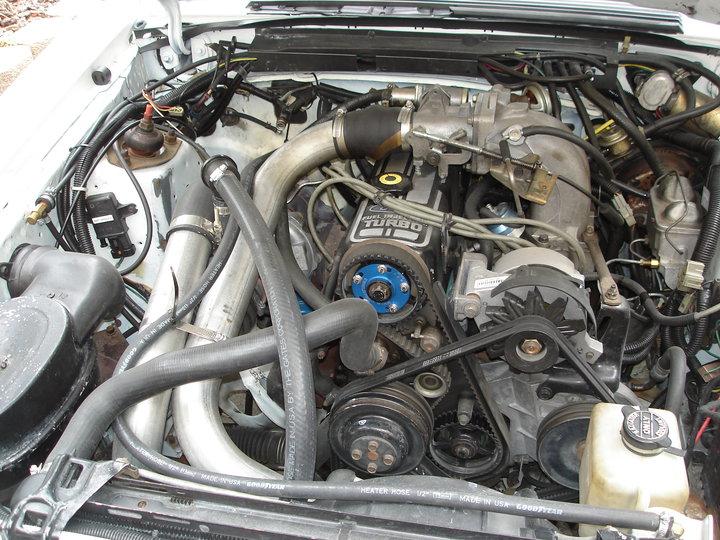 ford 2 3 turbo motor in fj40