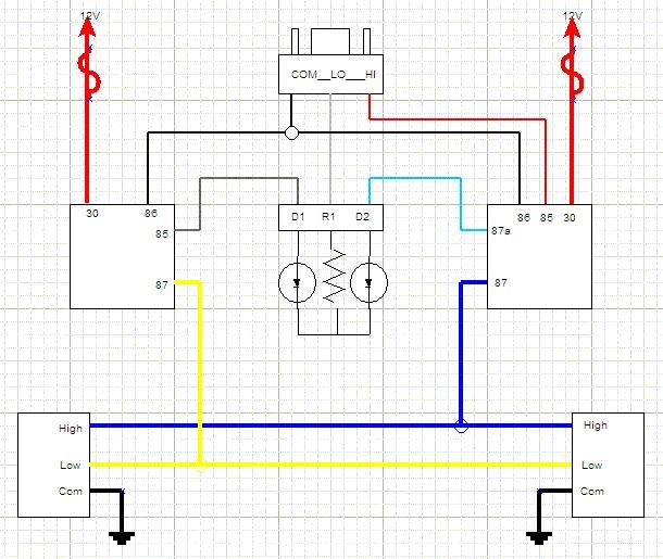 fj60 headlight wiring harness ih8mud forum Wiring Harness Diagram at soozxer.org