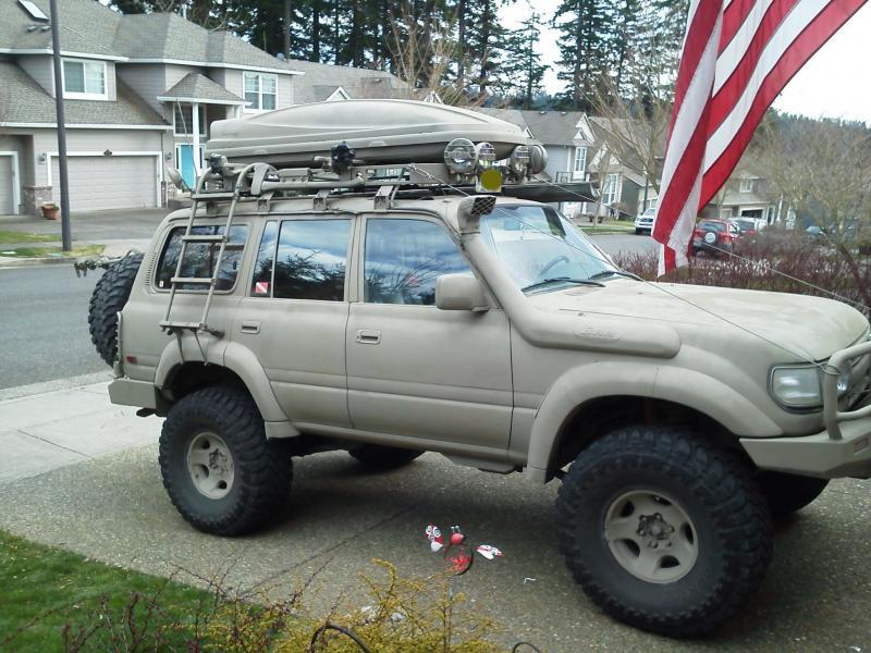 Roof Rack Ladder >> roof ladder | IH8MUD Forum