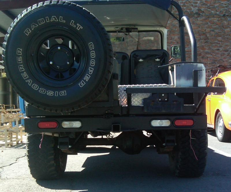 72 1972 Fj40 Rear Tail Lights Led Wiring Help Needed