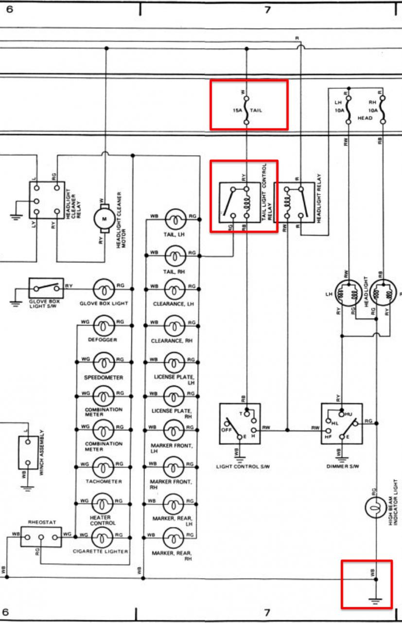 parking lights do not work-car need to pass nc inspection ... honda civic lighting wiring diagram #10