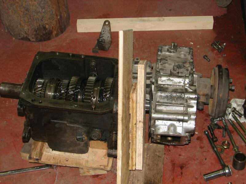 Toyota Fj40 Transfer Case Removal - Image Transfer and Photos
