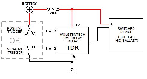 off delay timer wiring diagram need source of ignition (start/crank) 12v | ih8mud forum accessory delay relaycar wiring diagram #15