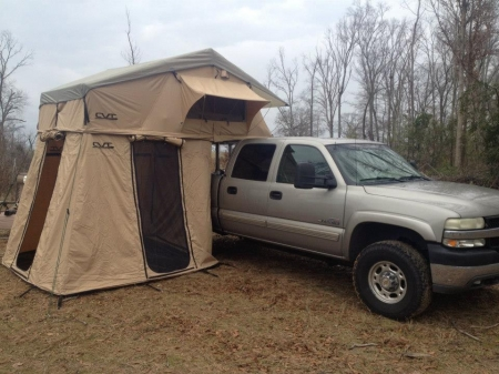 For Sale - CVT Roof Top Tent- Mt. Rainier- used once ...