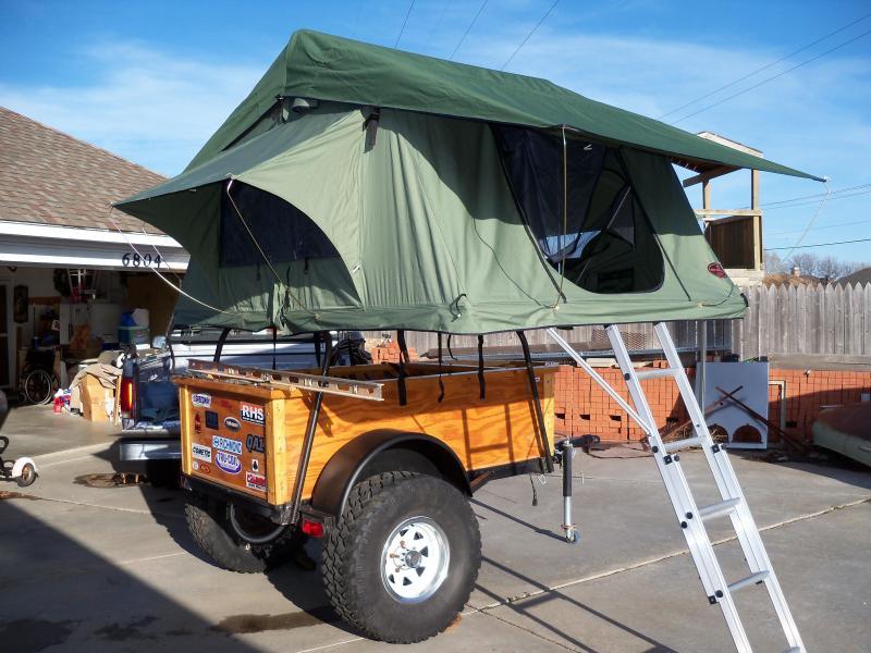 Tent trailer 018.jpg ... & Mombasa Adventure II rtt finally mounted.   IH8MUD Forum