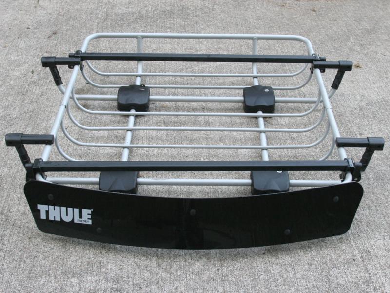 Toyota Of Everett >> Thule Roof Rack with Cargo Basket | IH8MUD Forum
