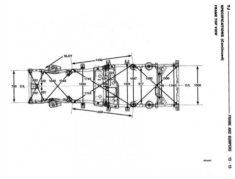 tj frame diagram wiring diagram Tj Wiring Diagram is this a jeep frame? ih8mud forum tj frame diagram