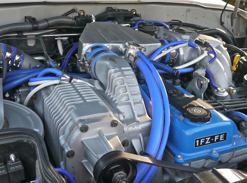 Toyota Salt Lake City >> Water to Air Intercooler Kit for the TRD Supercharged FZJ80 Land Cruiser   IH8MUD Forum