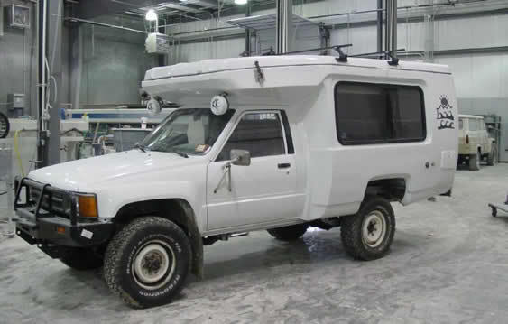 2wd to 4x4 SAS 1986 Toyota Chinook camper build | IH8MUD Forum