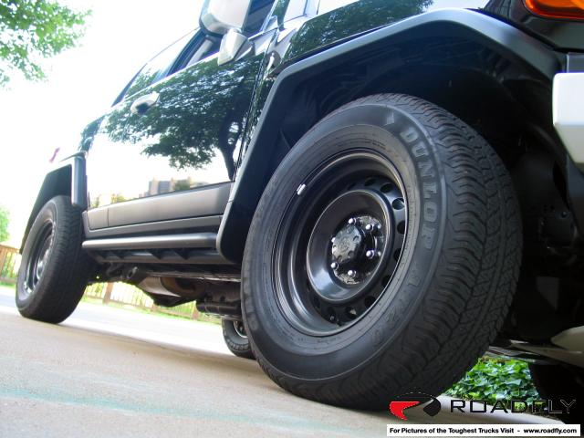 Fj Cruiser Black Steel Wheels Ih8mud Forum