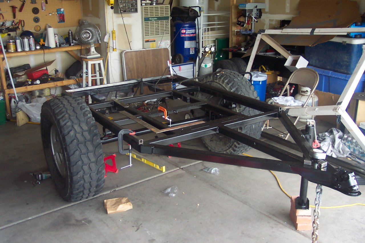 Building Up My First Camping Trailer Ih8mud Forum