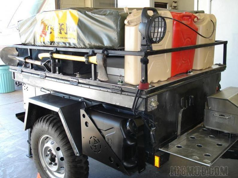 Post Pics Of Jerry Can Holder On Your Trailer Ih8mud Forum