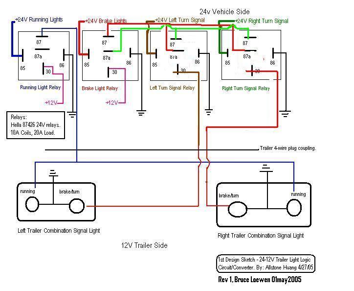 24 Volt Trailer Wiring Diagram