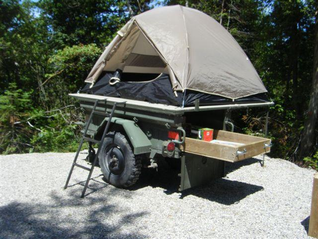 M101 Tailgate Amp Homemade Fold Out Tent Page 2