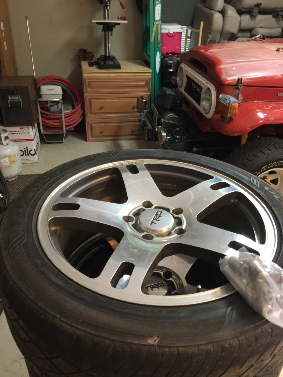For Sale Anyone Inbterested In Trd Forged 22 Quot Wheels