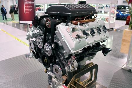 5.7L iForce V8 with TRD Supercharger