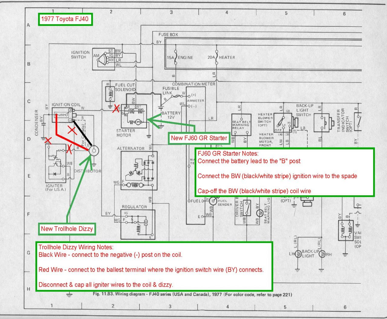 Electrical Relay Diagram Wiring Is My Wire Data Schema Audioclippingdetectorcircuitjpg 77 Fj40 Gear Reduction Starter Dizzy Upgrade Ih8mud