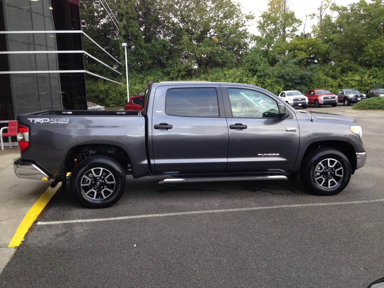 For Sale 2014 Tundra Trd Wheels With Tires Ih8mud Forum