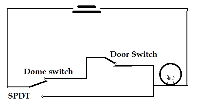 wiring led u0026 39 s into dome light using an spdt and dash dimmer