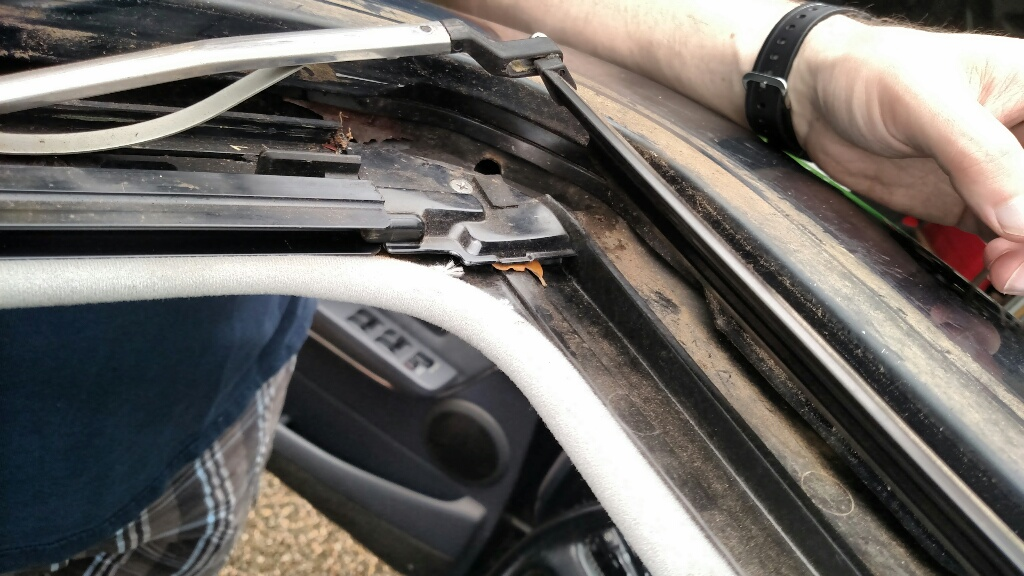 Front Floor Leaks And Sunroof Drain Question Ih8mud Forum
