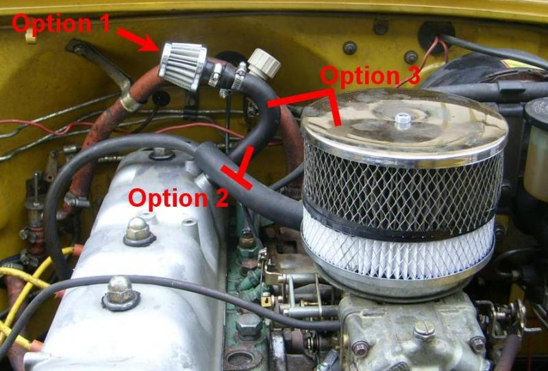 How Should I Vent The Valve Cover Ih8mud Forum