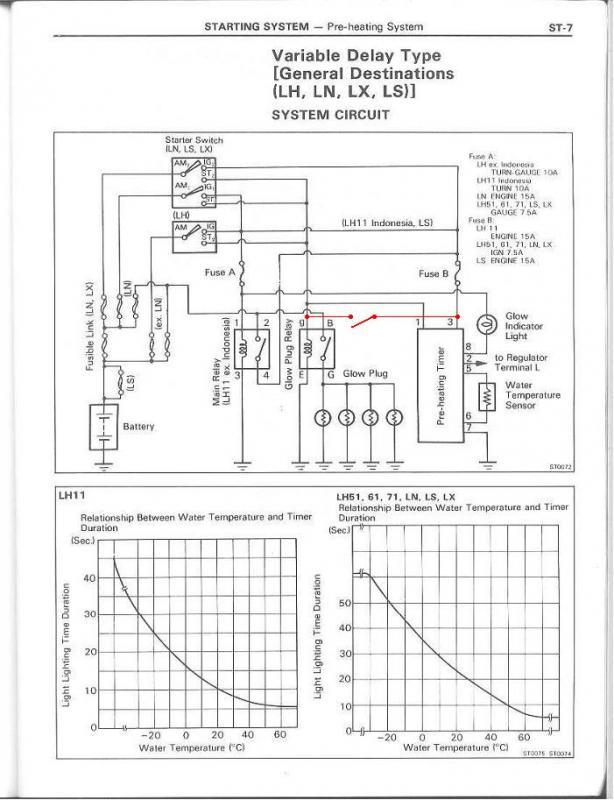 Oex Relay Wiring Diagram : Oex glow plug timer wiring diagram and