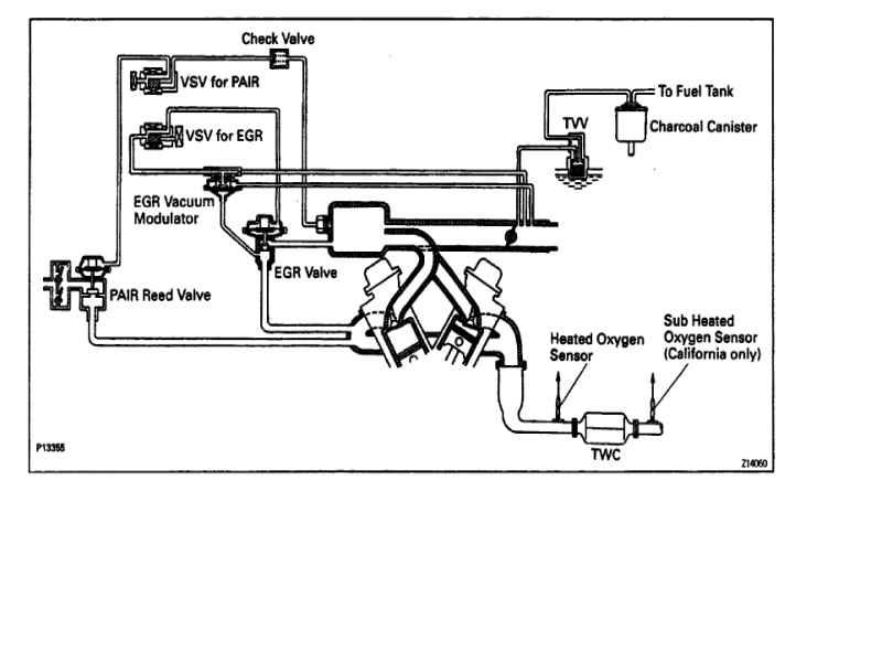 Vacuum Hose Diagram Ih8mud. Toyota. 91 Toyota 3 0 Vacuum Diagram At Scoala.co
