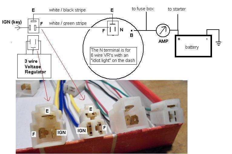 77 fj40 alternator wiring question ih8mud forum External Voltage Regulator Wiring Diagram at mifinder.co