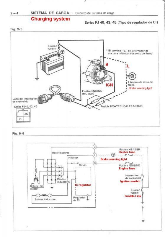 denso alternator wiring diagram p ig l