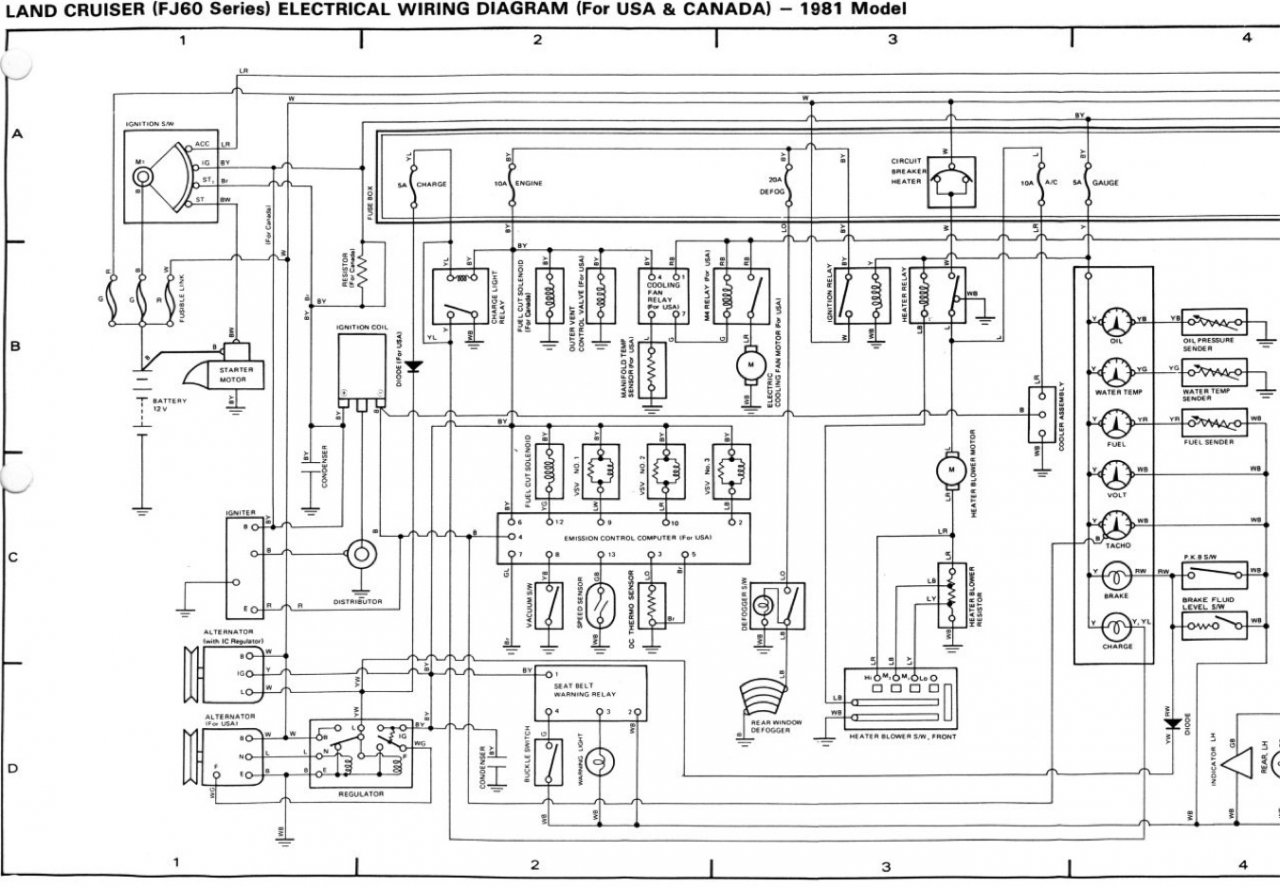 Wiring Diagram 40 Toyota Fj40   Fusebox and Wiring Diagram ...